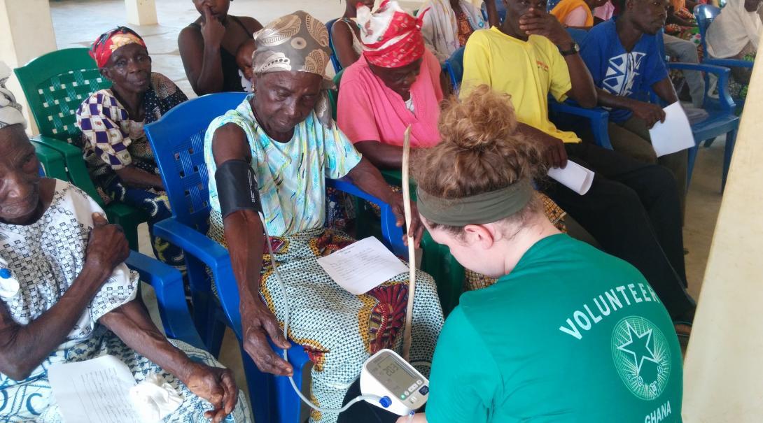 High School Special volunteers in Ghana